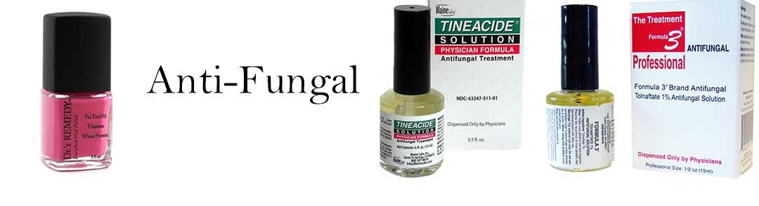 Anti-Fungal: Tineacide, Formula 3, Dr's Remedy